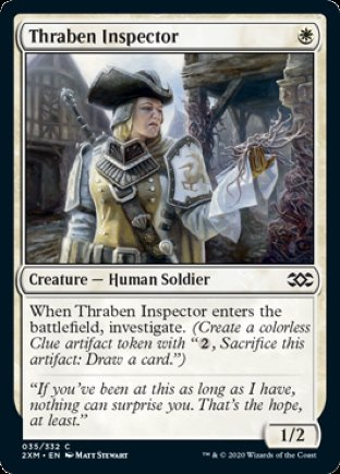 Thraben Inspector   Double Masters