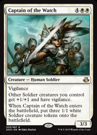 Captain of the Watch | Elspeth vs Kiora