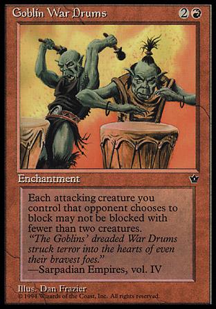 Goblin War Drums | Fallen Empires