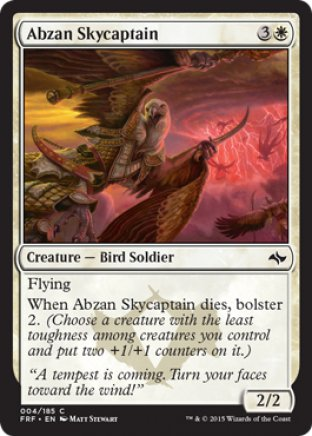 Abzan Skycaptain | Fate Reforged
