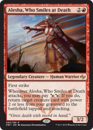 Alesha, Who Smiles at Death | Fate Reforged