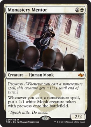Monastery Mentor | Fate Reforged