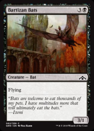 Bartizan Bats | Guilds of Ravnica