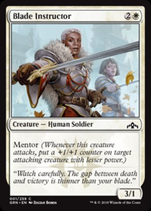 Blade Instructor | Guilds of Ravnica