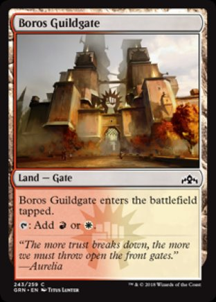 Boros Guildgate | Guilds of Ravnica