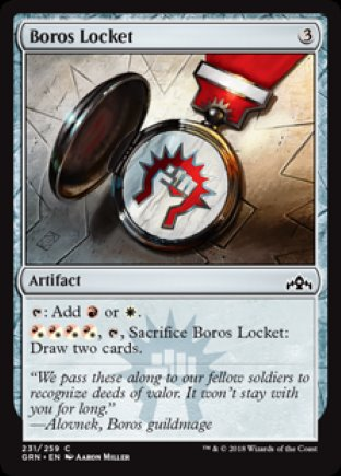 Boros Locket | Guilds of Ravnica