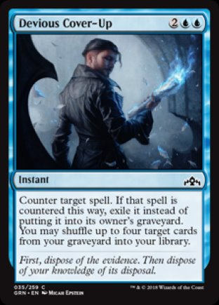 Devious Cover-Up | Guilds of Ravnica