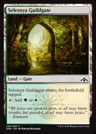Selesnya Guildgate | Guilds of Ravnica