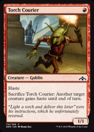 Torch Courier | Guilds of Ravnica