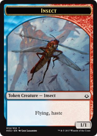 Insect token   Hour of Devastation
