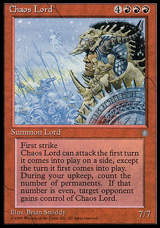 Chaos Lord | Ice Age