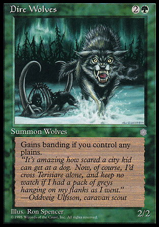 Dire Wolves | Ice Age