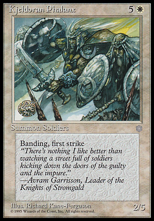 Kjeldoran Phalanx | Ice Age