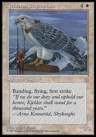 Kjeldoran Skycaptain | Ice Age