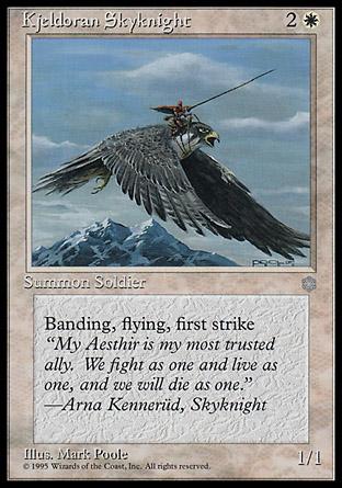 Kjeldoran Skyknight | Ice Age