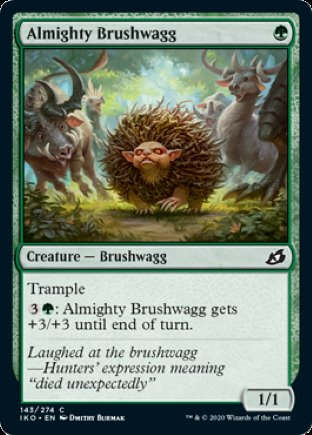 Almighty Brushwagg | Ikoria