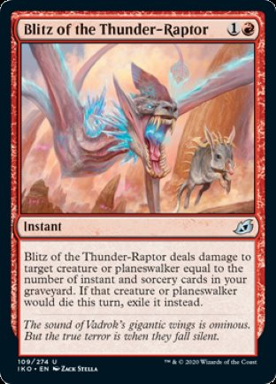Blitz of the Thunder-Raptor | Ikoria