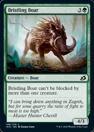 Bristling Boar | Ikoria