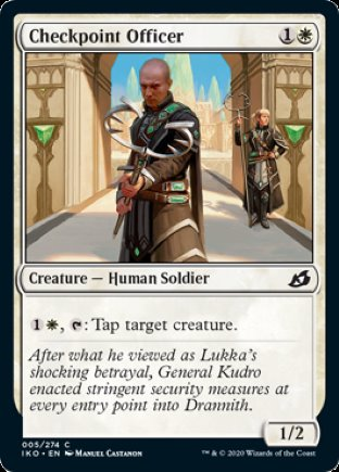 Checkpoint Officer   Ikoria