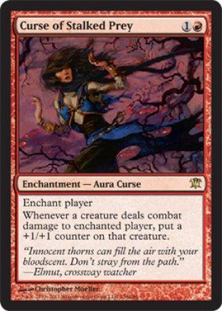 Curse of Stalked Prey | Innistrad