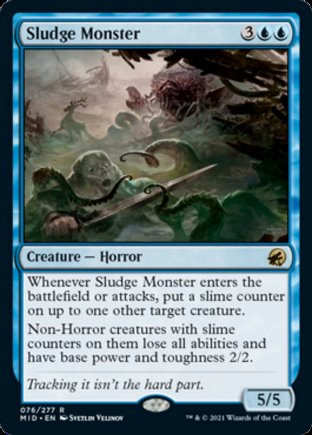 Sludge Monster | Innistrad Midnight Hunt