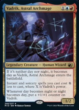 Vadrik, Astral Archmage | Innistrad Midnight Hunt