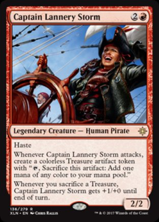 Captain Lannery Storm   Ixalan