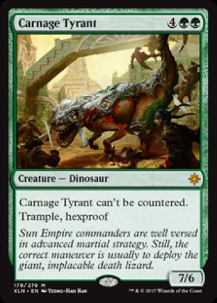 Carnage Tyrant | Ixalan