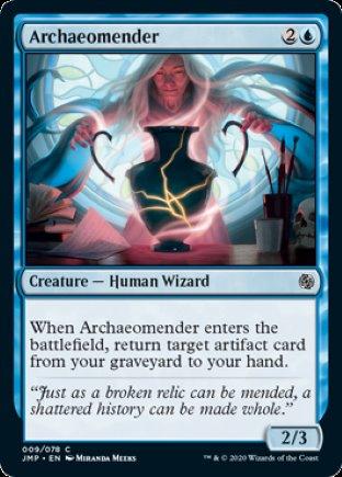 Archaeomender | Jumpstart
