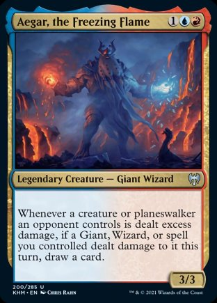 Aegar, the Freezing Flame | Kaldheim