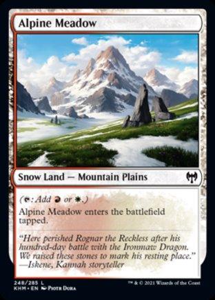 Alpine Meadow   Kaldheim