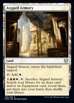 Axgard Armory   Kaldheim