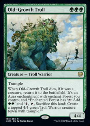 Old-Growth Troll | Kaldheim