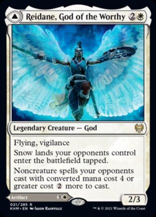 Reidane, God of the Worthy   Kaldheim