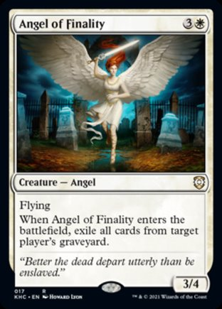 Angel of Finality | Kaldheim Commander