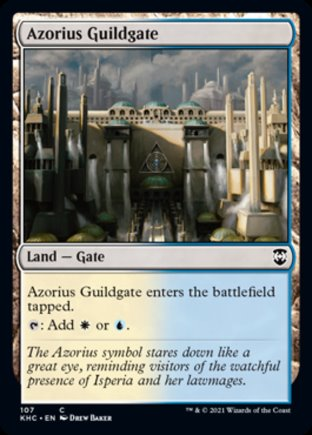 Azorius Guildgate | Kaldheim Commander
