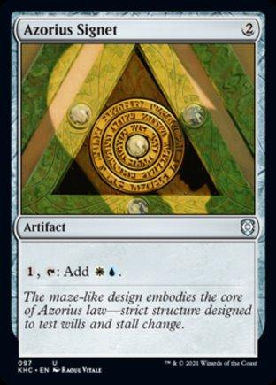Azorius Signet | Kaldheim Commander