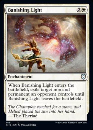 Banishing Light | Kaldheim Commander
