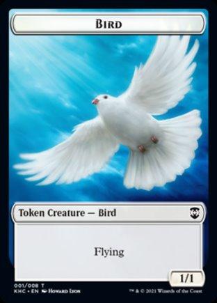 Bird token   Kaldheim Commander