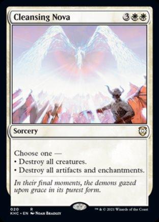 Cleansing Nova | Kaldheim Commander