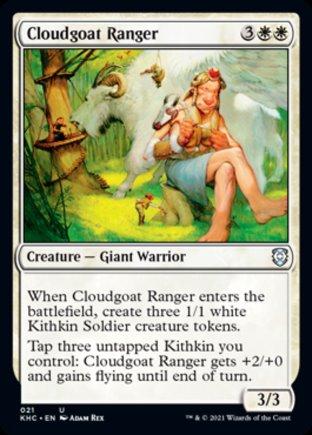 Cloudgoat Ranger   Kaldheim Commander