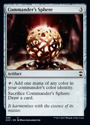 Commander's Sphere | Kaldheim Commander