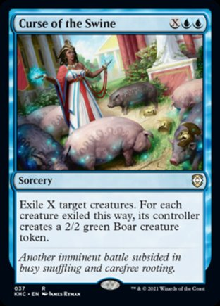 Curse of the Swine | Kaldheim Commander