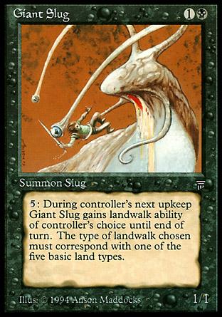 Giant Slug | Legends