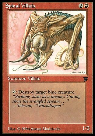Spinal Villain   Legends