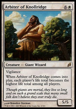 Arbiter of Knollridge   Lorwyn
