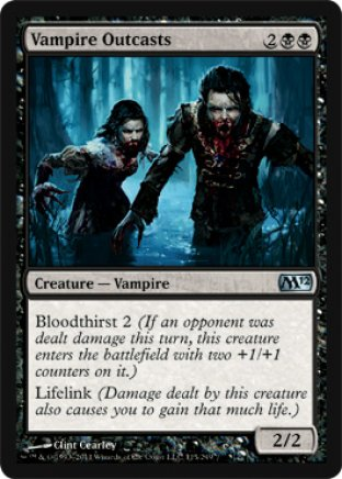 Vampire Outcasts | M12