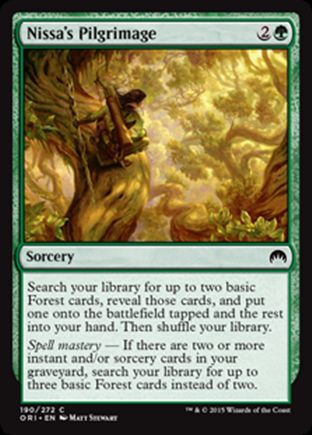 Nissa's Pilgrimage | Magic Origins