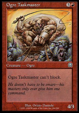 Ogre Taskmaster   Mercadian Masques