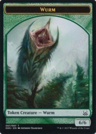 Wurm token   Mind vs Might